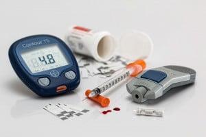 Various Diabetes Equipment